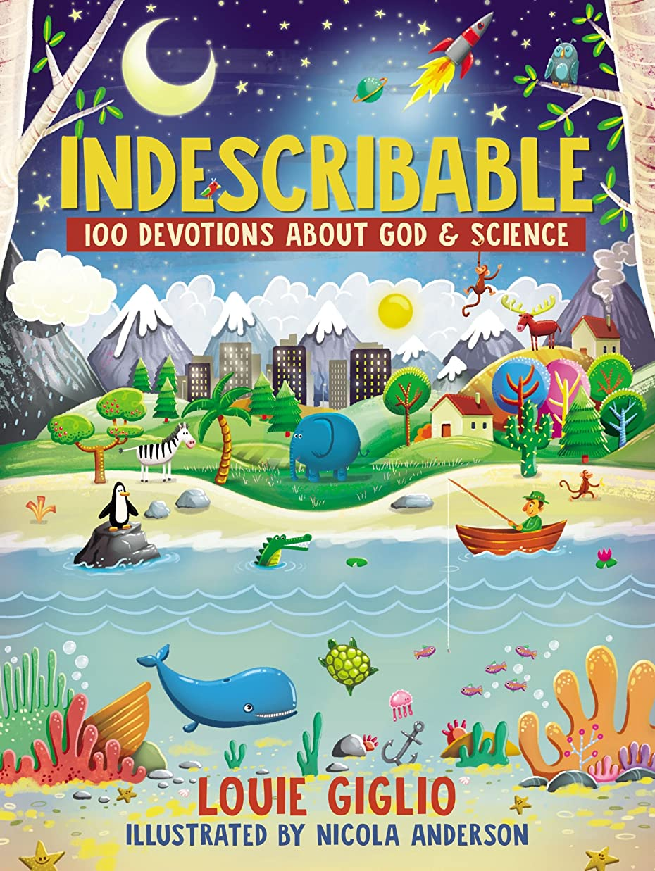 粘り強いクランシー拘束するIndescribable: 100 Devotions for Kids About God and Science (English Edition)