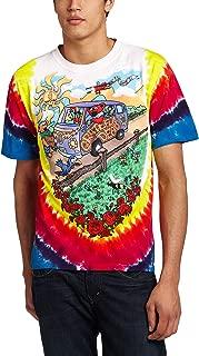 Grateful Dead - Mens Summer Tour Bus Tie Dye T-Shirt