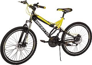 Benotto Bicicleta Navy MTB Acero R26 21V Hombre Shimano Frenos Doble Disco