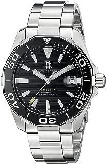 TAG Heuer Men's WAY211A.BA0928 Aquaracr Analog Display Swiss Automatic Silver Watch