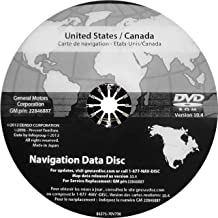 GM Navigation DVD Map Update 10.4 22846887