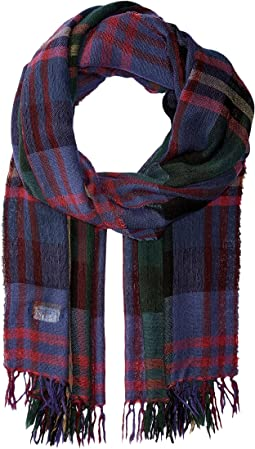 Polo Ralph Lauren - Lightweight Wool Plaid Wrap