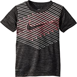 Nike Kids Linear Ombre Chevron Dri-FIT Tee (Toddler)