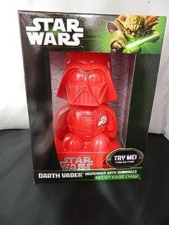 Star Wars Red Darth Vader Gumball Machine Dispenser with sound