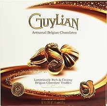 Guylian Belgium Chocolates 22 Piece Artisinal Seashell Truffles, Hazelnut Filling, 8.8 Ounce