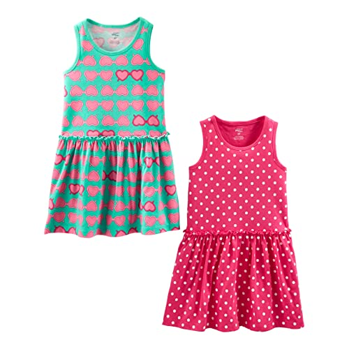 b45c7fcd86f Simple Joys by Carter's Baby and Toddler Girls' 2-Pack Short-Sleeve and