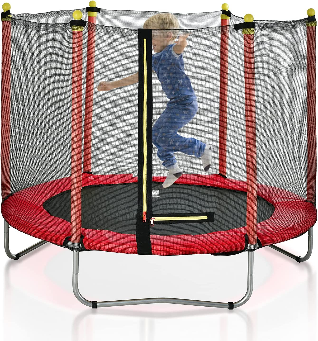 Directly managed store 60-inch Trampoline for Children with 2021 model Enclos Kids