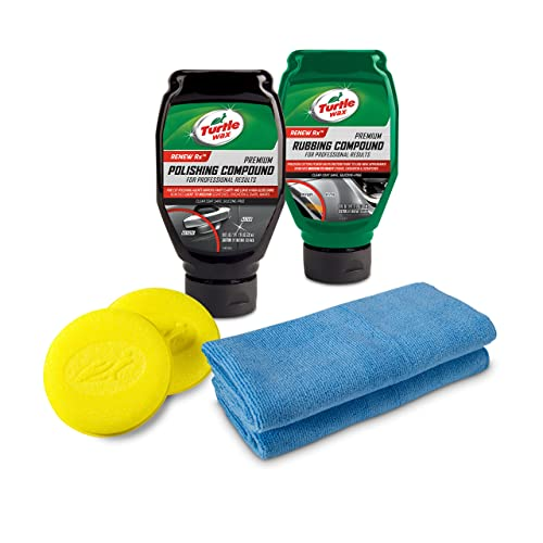 Turtle Wax 50734 Complete 6-Piece Compound, Polishing & Scratch Kit