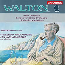 Walton: Viola Concerto / Sonata for Strings / Variations On A Theme by Hindemith