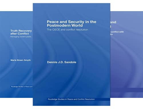 Routledge Studies in Peace and Conflict Resolution (50 Book Series)