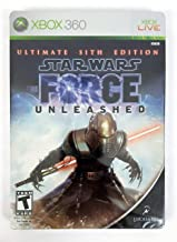 Star Wars The Force Unleashed: Ultimate Sith Edition -Xbox 360 (Renewed)