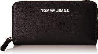 محفظة زد/ايه انثوية كبيرة للنساء من تومي جينز، اسود - AW0AW08247