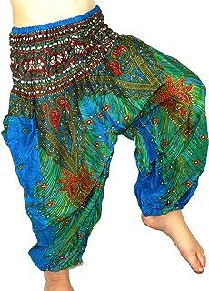 ec3810b60 Sarouel 6 8Ans Enfant Pantalon Ethnique Harem pant children aladin boho  fille garçon 6 7