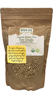 Royal Lee Organics Organic Gluten Free Oat Groats (2 lbs)