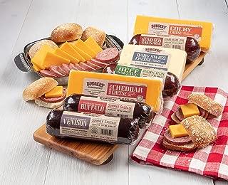 Burgers' Smokehouse Colossal Summer Sausage & Cheese