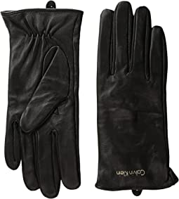 Calvin Klein - Basic Leather Gloves