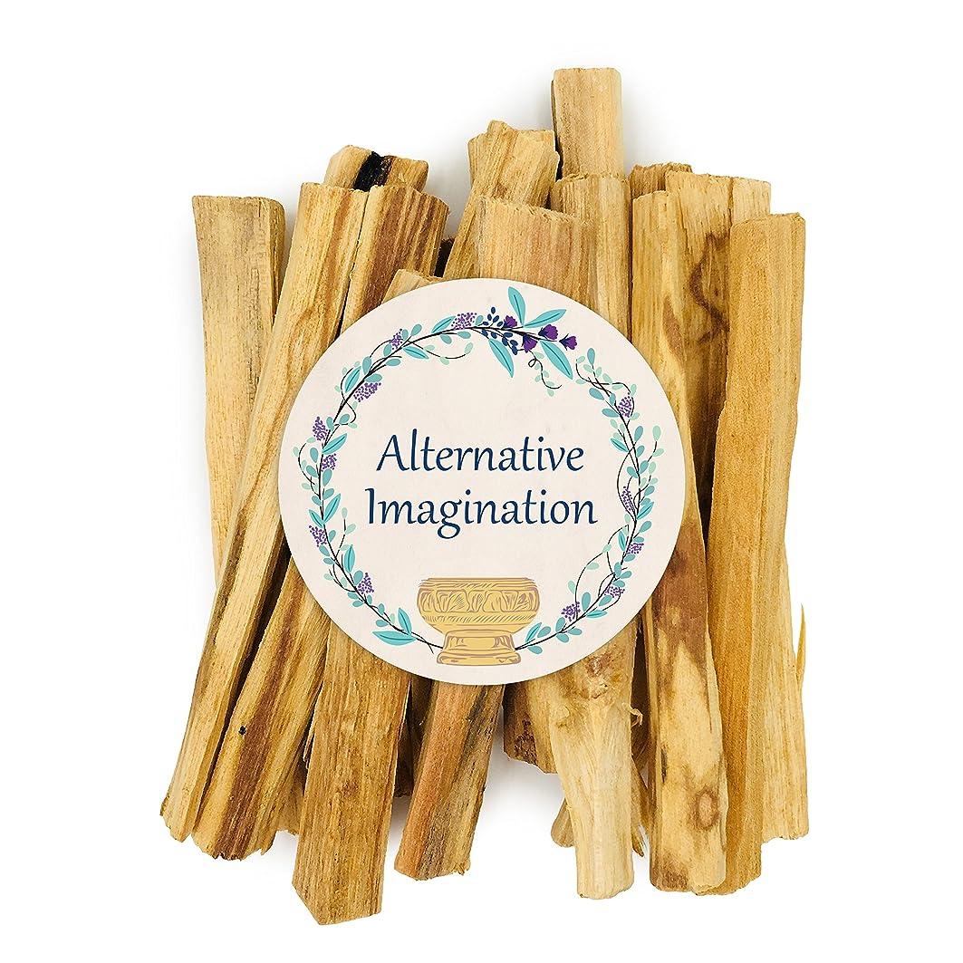 どこでも塗抹ファイバプレミアムPalo Santo Holy Wood Incense Sticks 2?ozパックfor purifying、クレンジング、ヒーリング、瞑想、Stress Relief。100?%自然と持続可能な、野生の収穫。