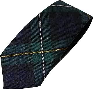 100% Wool Authentic Traditional Scottish Tartan Neck Tie - Campbell of Loudoun Modern