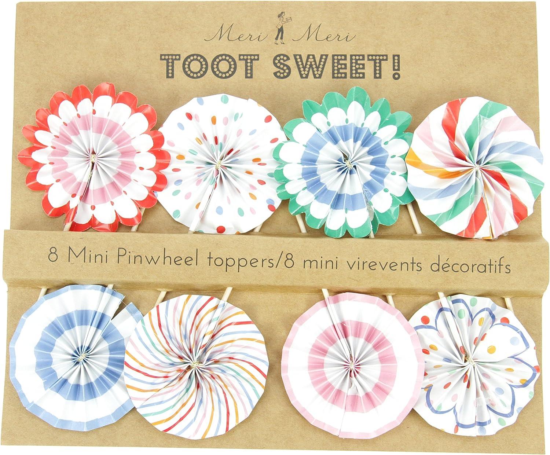 a precios asequibles Meri Meri Meri Meri Toot Sweet Rueda Toppers  venta caliente en línea