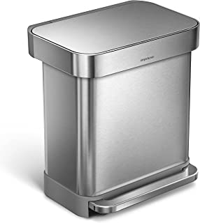 Best aluminum kitchen trash can Reviews
