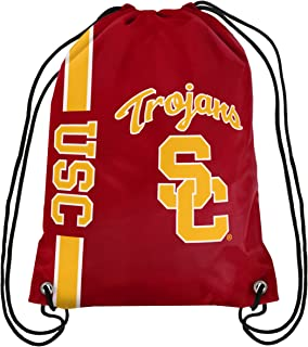 FOCO NCAA USC Trojans Big Logo Drawstring Backpackbig Logo Drawstring Backpack, Team Color, One Size