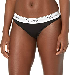CALVIN KLEIN Women's Modern Cotton Printed Thong