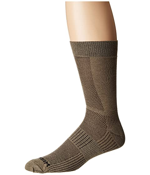 Low Shipping Fee Online Geniue Stockist Cheap Price Wrightsock Coolmesh II Crew Khaki qQKdZWs