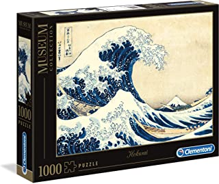Clementoni - 39378 - Puzzle - Museum la Grande Onda Di Hokusa - 1000 Pièces