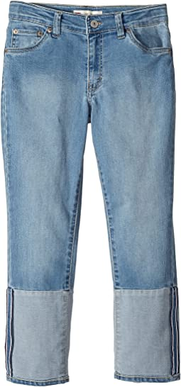 Levi's® Kids - Cropped Girlfriend Jeans (Big Kids)
