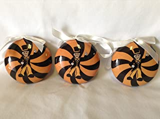 Wake Forest Demon Deacons (3 pack) NCAA Christmas Ornaments Set