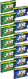 Jolt Energy Gum Variety Pack of 12 (Spearmint and Icy Mint) Energy Chewing Gum