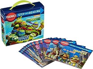 Nickelodeon TMNT Teenage Mutant Ninja Turtles Learn to Read Phonics 12 Book Set