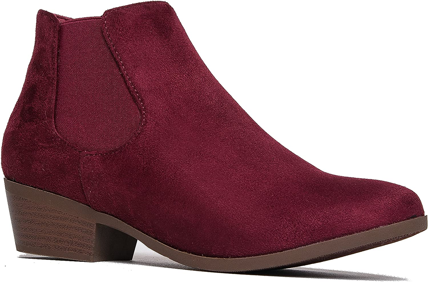 J. Adams Alton Ankle Booties - St Panel Translated Side Chelsea Elastic Max 56% OFF Low