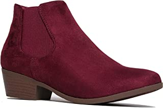 Best wine colored chelsea boots Reviews