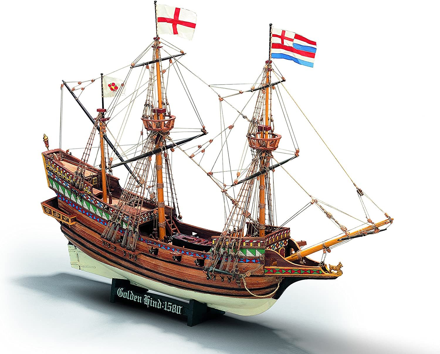 MINI MAMOLI - Modello Kit Barca Golden HIND Serie Scala 1 110 - DUS_MM71
