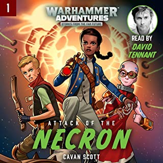 Warhammer Adventures: Attack of the Necron: Warped Galaxies, Book 1