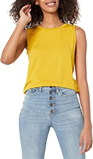 Amazon Essentials Women's Relaxed Fit Sleeveless Muscle Tank