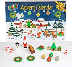 Strictly Briks - Classic Bricks Advent Calendar for Kids - 24 Day Countdown to Christmas Building Block Toy - 100% Compatible with All Major Brick Brands - 416 Pieces