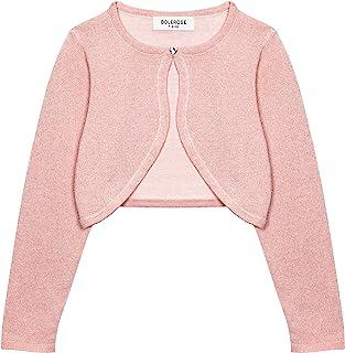 LOSORN ZPY Baby Girl Shrugs Bolero Toddler Long Sleeve Knitted Cardigan Sweater Shrug Jacket Cover Up