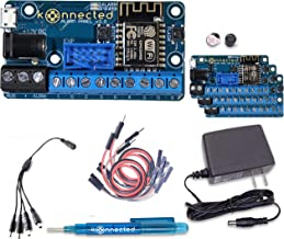 Konnected Alarm Panel Wired Alarm System Retrofit Kit - Make Any Wired Alarm System Smart - No Monthly Fees - Works with S...