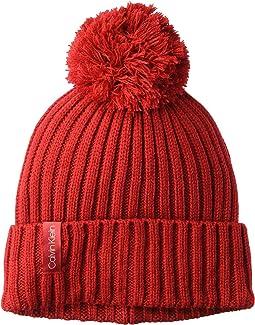 Basic Rib Pom Hat