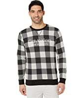 Modern Cotton Buffalo Check Sweatshirt