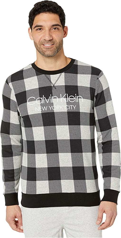 Graphic Buffalo Check/Grey Heather