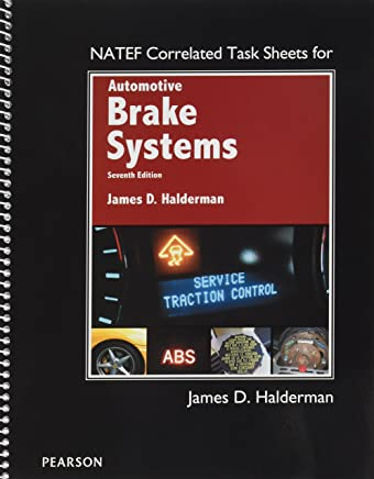 Natef Correlated Task Sheets Automotive Brake Systems