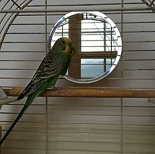 large birdcage mirror