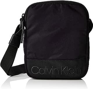 Calvin Klein Herren Shadow Mini Reporter Schultertasche, 4x20x16 cm