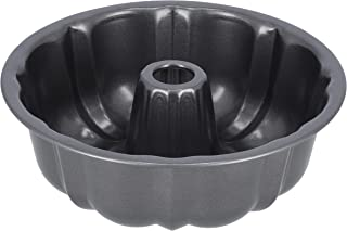 Delcasa Charlotte Bundform Pan 24.5x8CM -Carbon Steel with Premium Non-Stick Coating for Easy Release & Clean Up - Oven Sa...