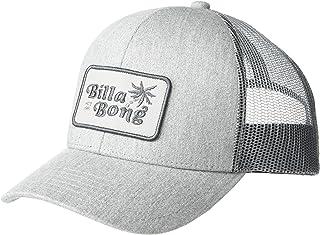 Billabong Boys' Walled Trucker Hat, Heather Grey, ONE