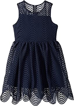 Spiral Lace Dress (Big Kids)