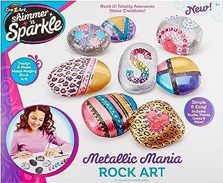 Cra Z Art Shimmer and Sparkle Metallic Madness Rock Art Crafts Kits